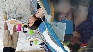 JoJo Smooch & Karlee Grey & Jessy Jones in In Tents Banging: Part Two - BrazzersNetwork