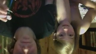 Russian Step Brother & Stepsister Play Webcam Intercourse