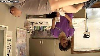 Sexy nurse jizz extraction