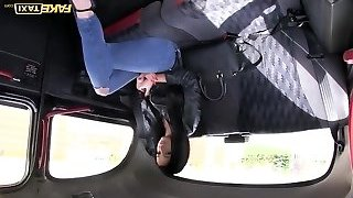 Fake Taxi dark-haired likes to exercise on cock