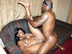 Super-hot ebony Brandy Dearborn made use of her big caboose to seduce a black hunk into shagging her
