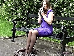 A sexy walk with Miss Pussy, she knows that the clack of her high stiletto will inflame your...