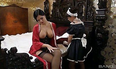 Lesbian Maid Video