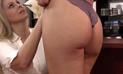 milf soker sex strapon anal