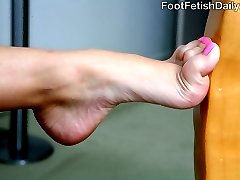 Missy Stone has super ticklish soles. And real-life former cop Jack Lawrence is going to work...