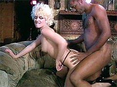 Sexy milf enjoys black cock