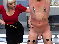 Dr. Torns FemDomme Laboratory Pushed, Probed, Fucked and Cucked!Dr. Cherry Torn conducts medical...