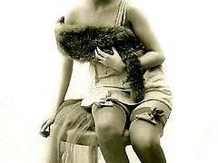 Sensual vintage wifes nude