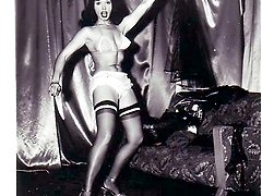 See wild dances of saucy fem featured in vintage pictures