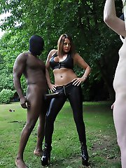 Tied up, naked and helpless! Now thats how you turn a naughty little submissive into a cuckold...