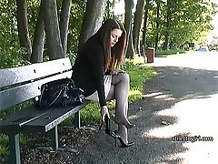 If you have a true fetish for ladies heels then the sight of a lady like Sara will at once give...