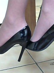 Is your shoe fetish your best kept secret? Does it make you go all hard and creamy whenever you...