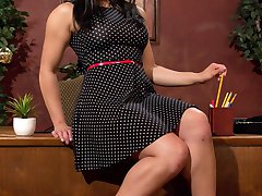 Involved in a DS relationship with her boss Lily Cade, smart ass masochist, Mia Li purposely...