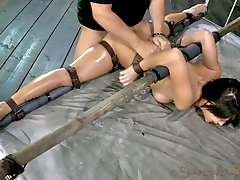This is Sofia Delgados first bondage shoot, ever. She has only been in the industry for a few...