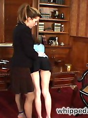 With her dominating presence and strong muscles, Mistress Kara carries her play toy, Ingrid...