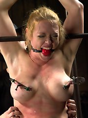 Darling returns to Device Bondage and shes never looked better, or suffered more beautifully....