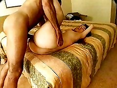 Hot Girl Gets Banged In Her Hairy Pussy