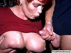 Big tits MILF fucked senseless