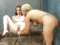Beautiful Blond big tittied and Big Ass, sister Allwood is no Angel but she is more than ready...