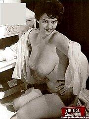 Busty vintage girls naked