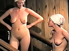 Sexy ladies who havent heard anything about terrible spy cams come to locker rooms and begin to...