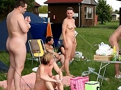 Public nudity and nude activists! Naked protesters hit the streets to fight the government!