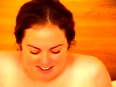 Chubby hairy pussy babe fucking on bed erotica