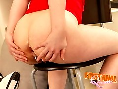 Soon this luscious teen girl was getting her butthole fucked in all imaginable positions