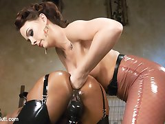 Caramel Starr is Chanel Prestons anal Barbie. She is here for Chanel to pose and play with and...