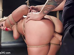 No good slave would want to receive pleasure without taking a little pain first and thats...
