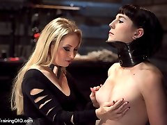 Slut trainee Coral Aorta must pass Goddess Aidens grueling tests before exiting this training...