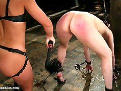 In this classic archive shoot Dana DeArmond proves that she can take anything Sandra Romain can...