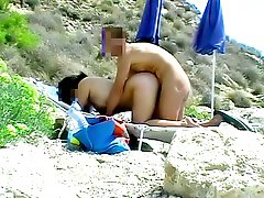 Hot sex and nudist at the beach
