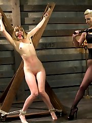 Cherry Torn runs the premiere dungeon in the city. New dominatrix, Mona Wales, is earning more...