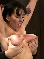 Alia Janine and her natural 34FF monster boobage is back. We love hot Milfs all spread out and...
