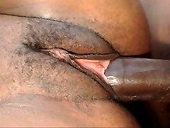 horny massive boob black babe gets fucked