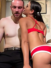 Welcome Lyla Storm to Divine Bitches! Lyla comes on to her professor but soon finds out he has a...
