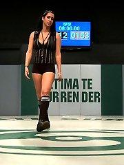 SEASON NINE MATCH UP! HANNAH WHITE The Black Swan HT 55 WT 125lbs Season record 0-0 Lifetime...