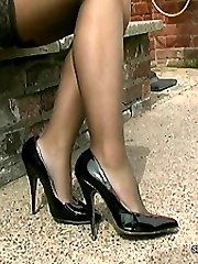 Does it affect you when you see a sexy lady in a pair of really high heels? The sharp intake of...