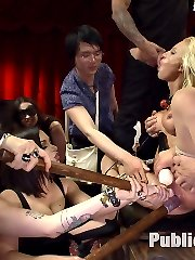 Hot and sultry Lea Lexis takes charge of this lanky newbies first ever Public disgrace. The...