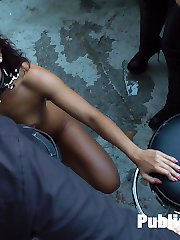Nomi Melone has no manners! This perky whore doesnt have a single clue on how to serve her...