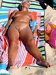amateur outdoor beach