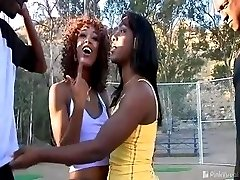 The ladies werent too excited about learning how to play baseball, but they had no issues with...