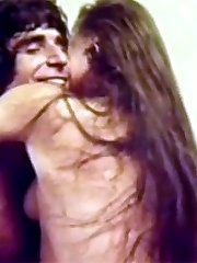 Vintage couple sex on film