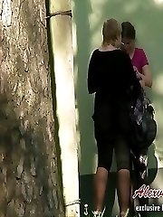Hot girl pissing video clips with very beautiful amateur babes peeing in different places