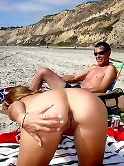 those babes on a beach are so naughty