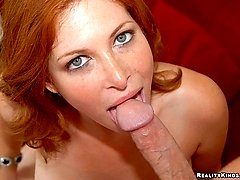 Super hot sexy milf ginger rides a hard cock after getting her hot ass picked up at the bar in...