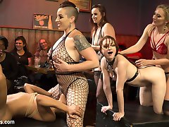Enjoy another hot installment of Dyke Bar filled with more shenanigans and a real live audience!...