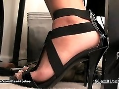 This isnt the only thing she is ready to do with her feet, there are also a lot of femdom scenes...