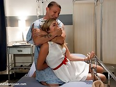 Nurse Lia Lor is caring for a man who was injured during his arrest and is now detained to a...